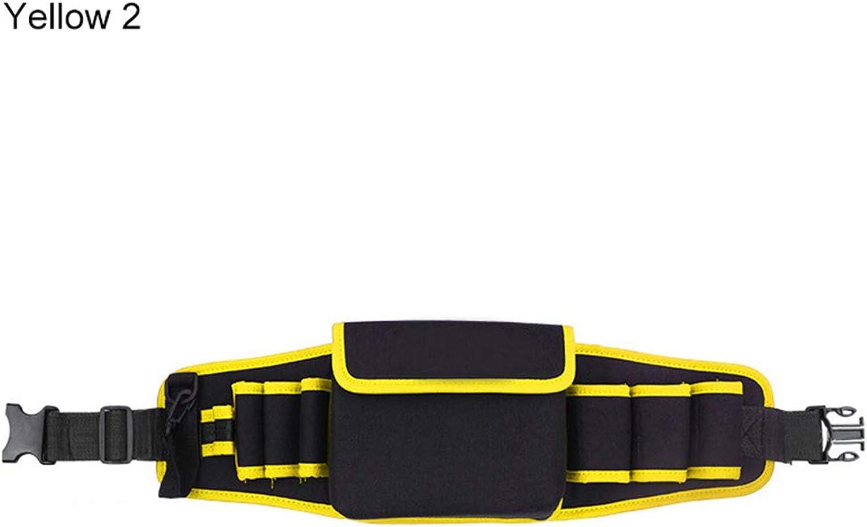 Dandeliondeme Tasche für Laufen, Wandern, täglich, verstellbar, Oxford-Stoff, Elektriker-Hammer-Zange, Reparatur-Werkzeuge, Gürteltasche B07K6MP9HM  Stilvoll und lustig