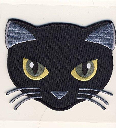 MQ Black Cat - Schwarze Katze - Aufnäher Patch Aufbügler Bügelbild