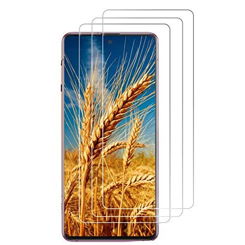[3 Stück] Panzerglas Schutzfolie für Samsung Galaxy S20 FE/ S20 FE 5G [Anti- Kratzer], [Bläschenfrei], [9H Härte], [HD-Klar] Displayfolie Panzerglasfolie für Samsung Galaxy S20 FE