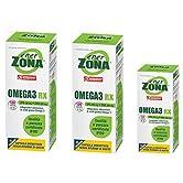 Enervit Enerzona Dieta Zone Integratore Alimentare per il Controllo del Colesterolo e Trigliceridi, Omega 3 RX - 240+48… - 51n38CEXUfL. SS166