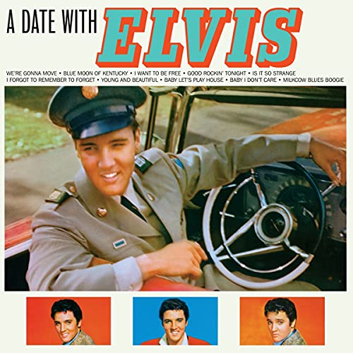 A Date With Elvis (Orange Vinyl)