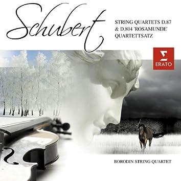 Schubert: String Quartets D.87 & D.804 Rosamunde' - Quartettsatz