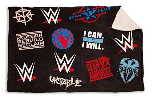 WWE-Sherpa-Decke aus Polyester