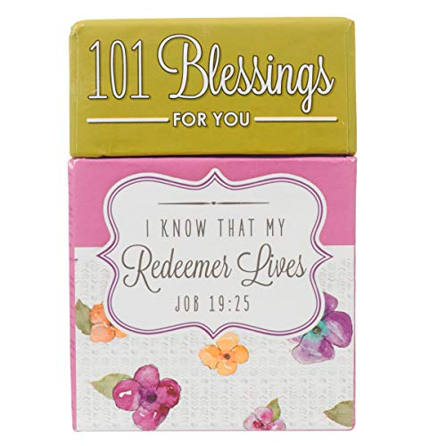 101 Blessings for You Devotional Cards, I Know That My Redeemer Lives - A Box of Blessings