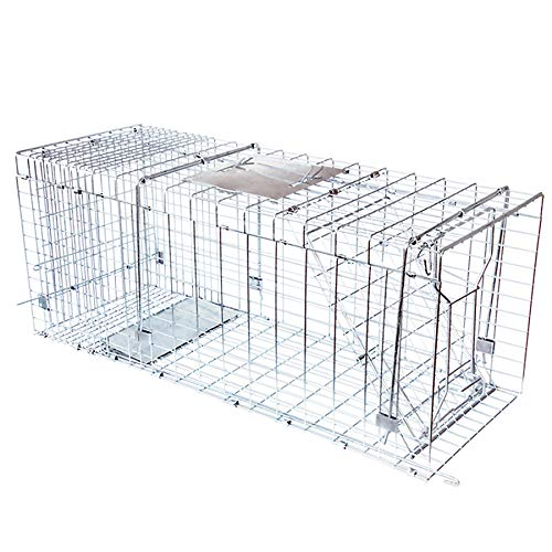 JT Eaton 495N Answer Single Door Live Animal Cage Trap for Extra Large Size Pests, 42' x 15' x 17'