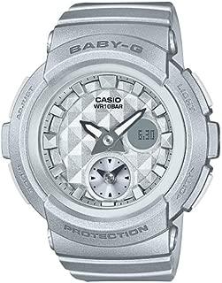Casio Baby G Women BGA195-8A Year-Round Analog-Digital Automatic Silver Watch