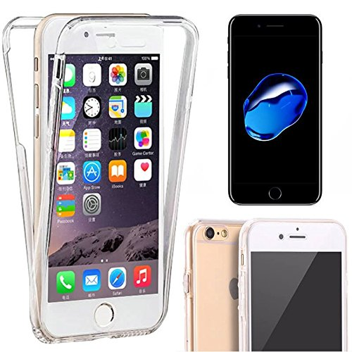 Generica - Funda Doble Frontal Trasera 360 Ultra Thin Fina Iphone 7 Plus / 8 Plus