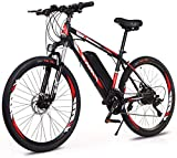XXXVV Elektrofahrrad Ebike Mountainbike 26 Zoll mit 36V 10Ah Lithium-Akku, 250 W Motor 52 km/h Elektrische E-Bike für Herren Damen