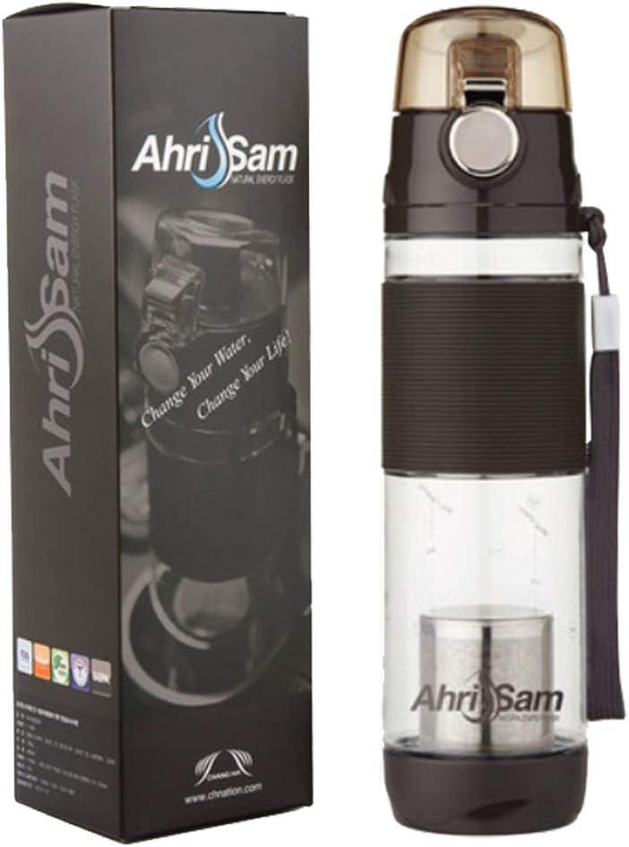 AhriSam Save money Water Premium Portable Production Bottle Hydrogen Department store 600ml