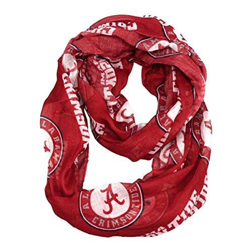 NCAA Alabama Crimson Tide Sheer Infinity Scarf