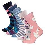 Ewers 5er Pack ÜBERRASCHUNGSPAKET RESTPOSTEN SONDERPOSTEN - individuell gefüllt - Kindersocken für Mädchen, MADE IN EUROPE, Socken Baumwolle Mädchensocken