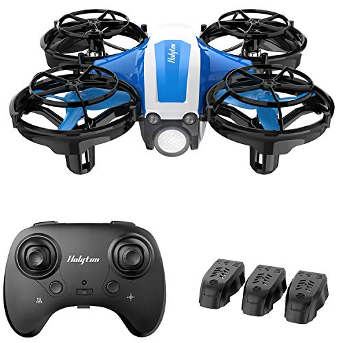 Holyton Mini Drone for Kids Beginners Adults, Hand Operated/Remote Control Quadcopter with 21Mins Flight Time,Auto Hover,Auto-Rotation,Throw to Go,Circle Fly, Toys for Boys & Girls, Upgraded HS330