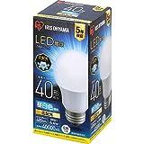 アイリスオーヤマ LED電球 口金直径26mm 広配光 40W形相当 昼白色 密閉器具対応 LDA4N-G-4T6