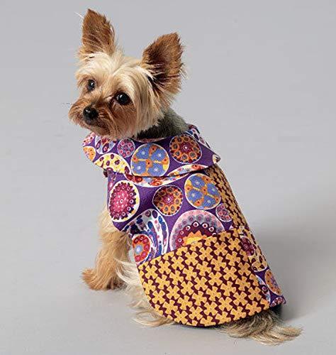 Schnittmuster, Hundecape, Kragen,Hundemantel,Hundebekleidung, KWIK SEW