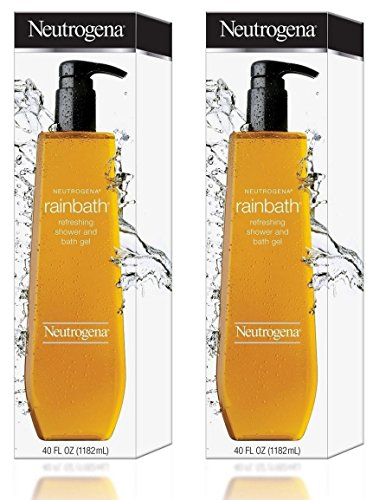 2 Neutrogena Rainbath Refreshing Shower and Bath Gel 40 Oz Bottle