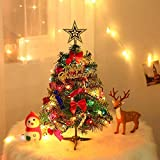 Dream Loom Sapins de Noel Artificiel 60 cm, Mini Sapin de Noel avec...