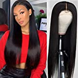 RECOOL 10A Lace Front Wigs Human Hair 150% Density 13x4 Inch Human Hair Wigs For Black Women Cheap Brazilian Hair Straight For Sale Natural Color (10 inch)