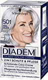 Diadem Silber-Color-Creme, Haarfarbe S01 Perl Stufe 3, 3er Pack(3 x 142 ml)