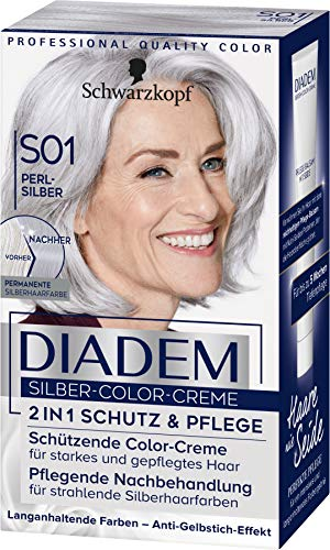 Diadem Silber-Color-Creme S01 Perl Stufe 3, 3er Pack(3 x 142 ml)