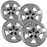 buick rendezvous hubcaps - OxGord Hubcaps for 17 Inch Wheels (Pack of 4) Wheel Covers - Chrome