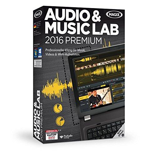 Preisvergleich Produktbild MAGIX Audio & Music Lab 2016 Premium