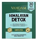 VAHDAM, süßer Himalaya Detox Grüner Tee   30 Tea Bags (2er Set)   100% natürlicher Detox Tee   Grüne Teeblätter, Stevia, Kurkuma, Shatavari, Kardamom, Ashwagandha   Gebraut als heißer Tee oder Eistee