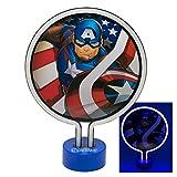 I-CHOOSE LIMITED Avengers Neonlampe für Kinderzimmer - Perfekt als Nachtlicht - Tragbar und Leicht