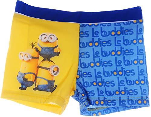 Minions Schwimmhose Badehose Bade Hose Shorts Schwimm Höschen Kinder 92-128 (6J - 110/116)