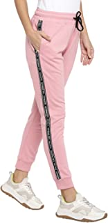 Alan Jones Clothing Women's Printed Taped Joggers Trackpant