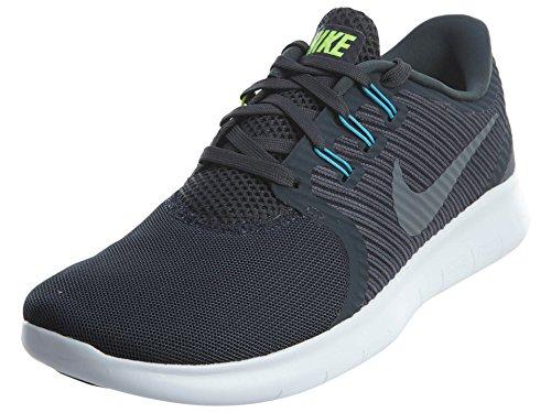 Nike Damen Free RN Commuter Laufschuhe, Mehrfarbig (Anthrazit/Gammablau/Volt/Cool Grau), 38.5 EU