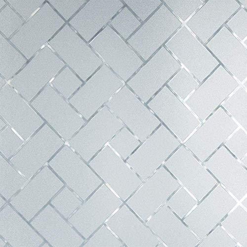 Romantische nacht 99 behang niet-klevende decoratieve raamfolie gekleurd glas statische mat privacy glas sticker voor thuis badkamer woonkamer D36