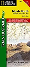 Moab North (National Geographic Trails Illustrated Map (500))