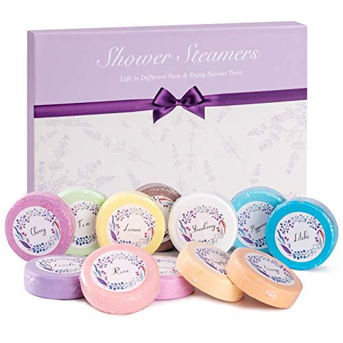 HBselect 12Stk Badekugeln Badebomben Geschenke Wellness Set für Frauen Freundin Bath Bomb Geburtstag Weihnacht Geschenkset für Damen Mutter