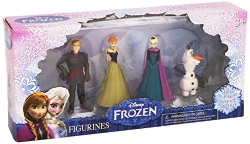 Disney Frozen - Pack 4 Figuras (Comansi CLR369)