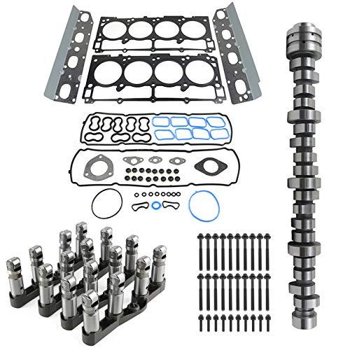 Cam Lifters Kit w/Head Gasket Set Compatible with Chrysler Aspen Dodge Durango Ram 1500 5.7L 6.4L Hemi MDS Engine GELUOXI