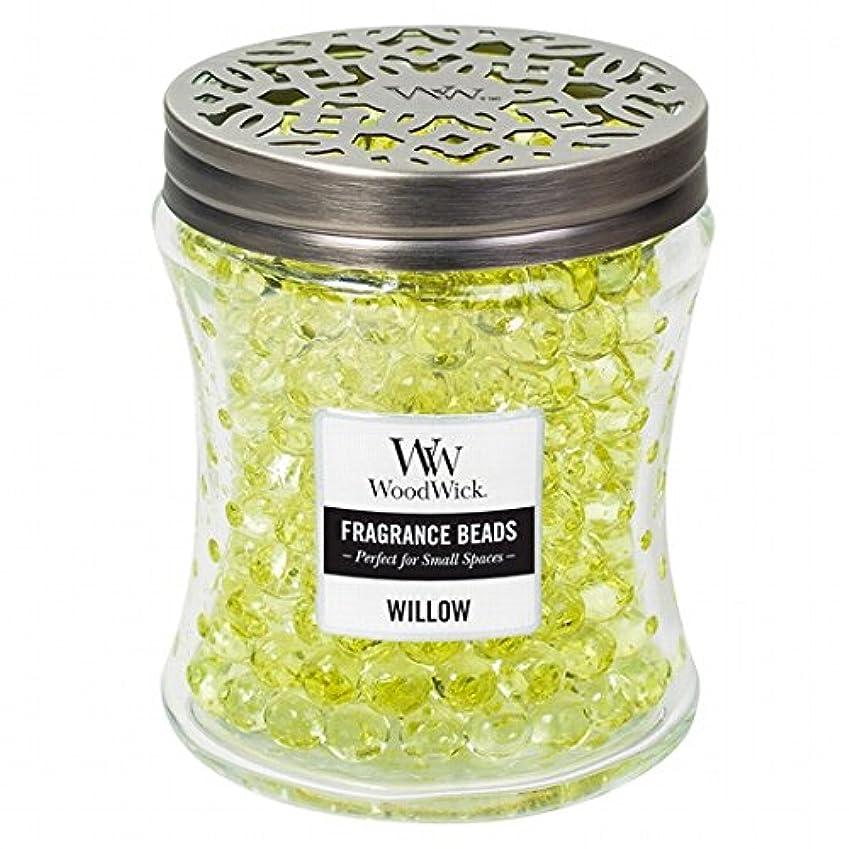 ドナウ川事故威信ウッドウィック( WoodWick ) Wood Wickフレグランスビーズ 「 ウィロー 」W9620525