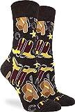 Good Luck Sock Women's Cowboys Socks - Brown, Adult Shoe Size 5-9