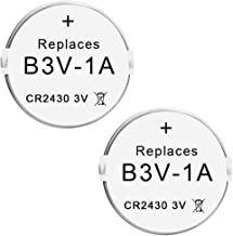 Abeden B3V 1A Lithium Replacement Batteries Compatible with High Tech Pet Single Electronic Collar Battery for Model MS-4 and MS-5 2 Pack