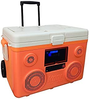 TUNES2GO CA-E065O KoolMAX Bluetooth Speaker (Orange)