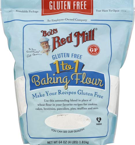 Bobs Red Mill, Baking Flour 1 To 1 Gluten Free, 64 Ounce