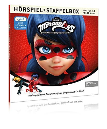 Miraculous - Geschichten von Ladybug & Cat Noir - mp3-Staffelbox 1.1 - Das Original-Hörspiel zur TV-Serie (Folgen 1 - 13)