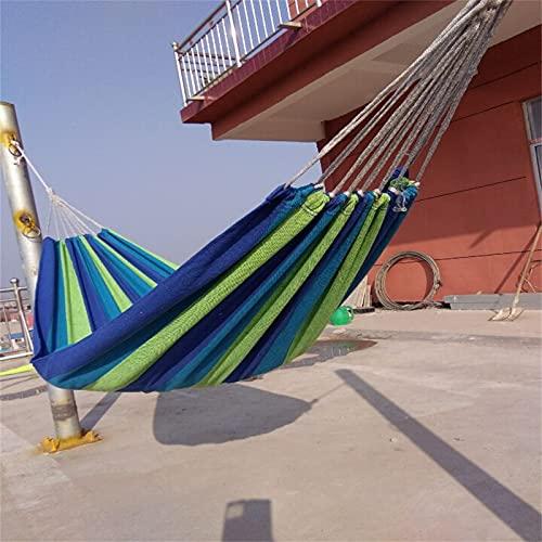 FACWAWF Explorer Hamaca De Lona De Un Solo Columpio para Ocio Al Aire Libre 250x150cm