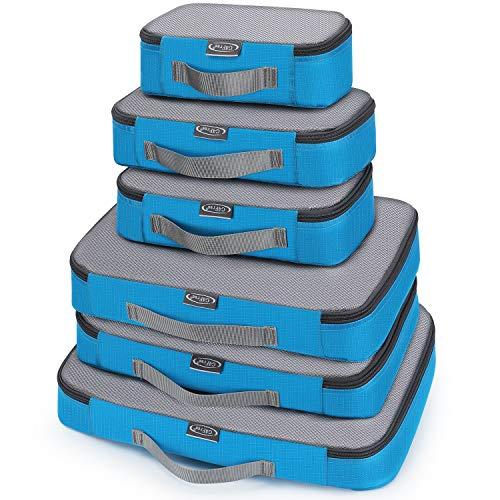 G4Free アレンジケース トラベルポーチ 6点セット パッキングキューブ 旅行用ポーチ 大容量 洗面用具 衣類 靴 下着入れ スーツケース整理 出張 便利グッズ