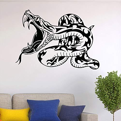 hetingyue muurstickers, slangenpatroon, jongens, slaapkamer, decoratie, creatief design, decoratie, waterdicht, vinyl, zelfklevend