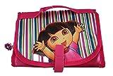 Neceser desplegable niñas Dora la Exploradora Rosa Licencia Oficial 23x16x2 cm