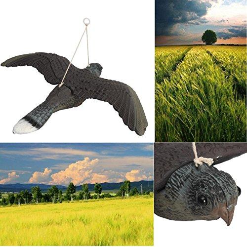 Bluelover Flying Bird Hawk Hibou Leurre Nuisibles Lutte Antiparasitaire Jardin Scarer Scarecrow