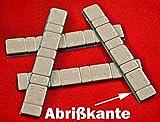 SW-Trade Germany 50 KLEBEGEWICHTE 5g+10g Auswuchtgewichte 3Kg mit Abrißkante Kleberiegel verzinkt +...
