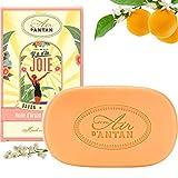 Feste Seife 100g /Duftseife mit Orangenblüte und Pfirsich/Bio-Shea Butter & Bio Argänol/Handseife...
