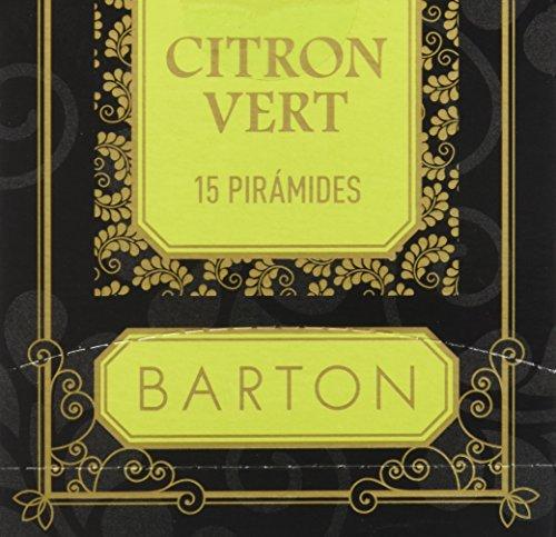 Barton Te Verde Citron Vert, Piramides - 15 piramides