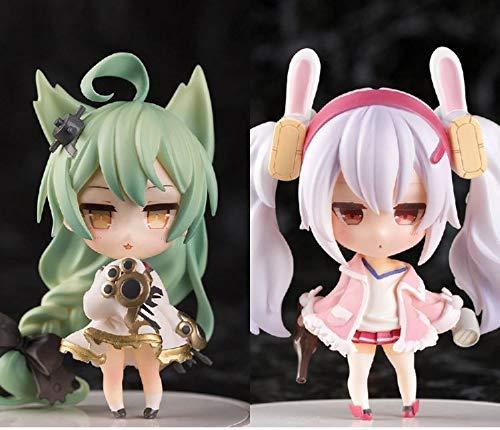 YYGB Azur Lane Akashi, Laffey Madara Nendoroid Personajes De Anime De AccióN -10cm, PVC Estatuas MuñEcos DecoracióN Fans Regalo